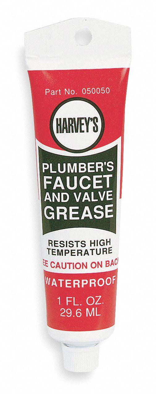 HARVEY White Lithium Anti-Corrosion Grease, 1 oz. - 2WY65 050050-12 ...