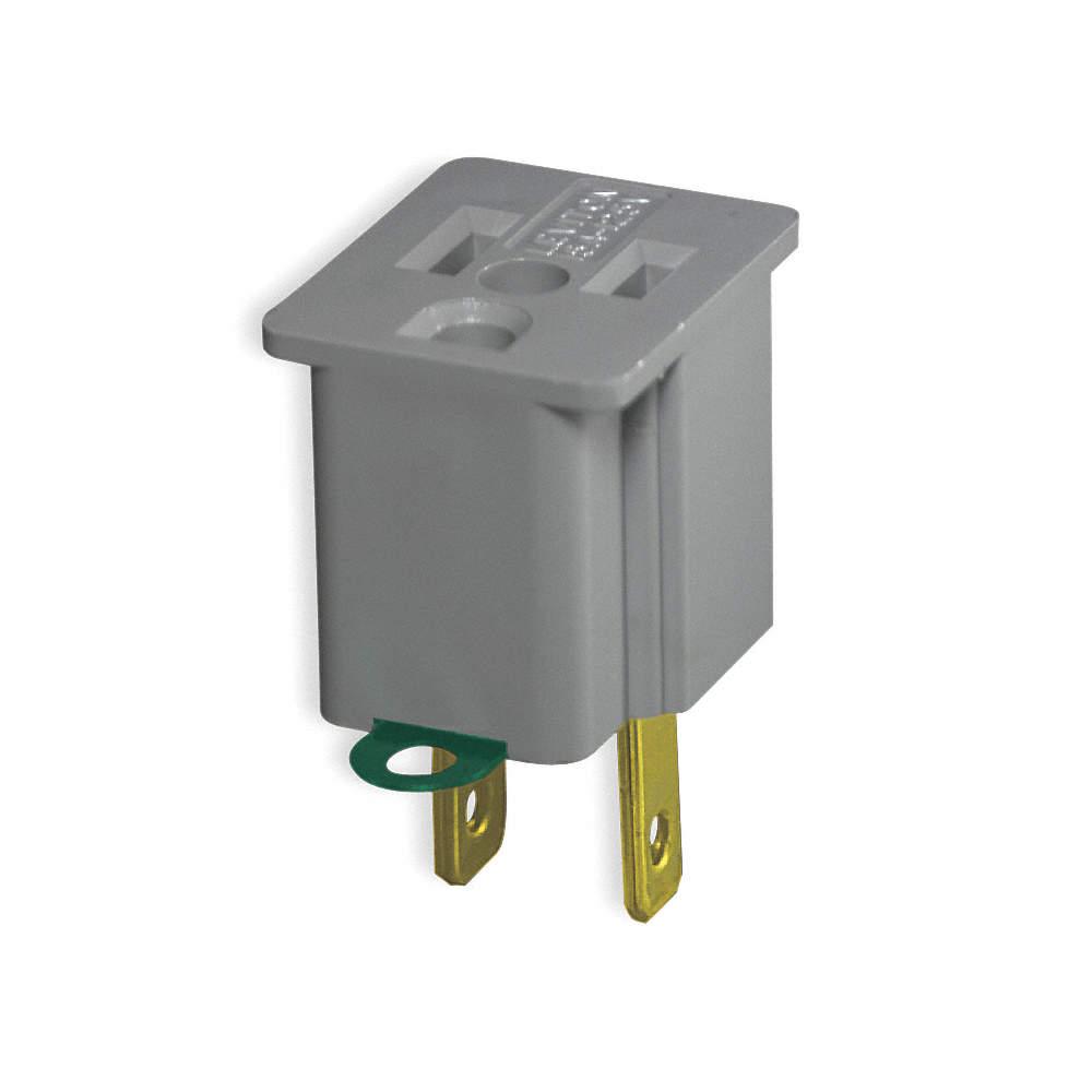 LEVITON Cord Adapter,Ground - 2X604|274 - Grainger