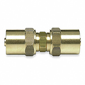 Brass Reusable Hose Mender For Hose I.D. 1/4""