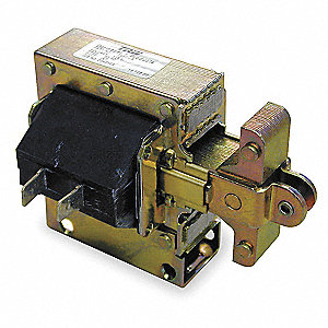 "Solenoid, 120VAC Coil Volts, Stroke Range: 1/4"" to 1"", Duty Cycle: Intermittent"