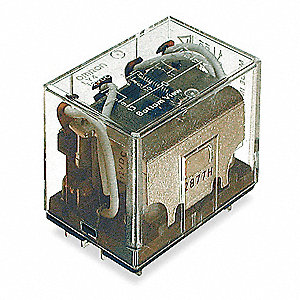 Plug In Relay, 14 Pins, Square Base Type, 10A @ 120VAC/24VDC Contact Rating, 240VAC Coil Volts