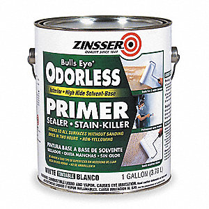 Primer/Sealer Stain Killer,White,1 gal.