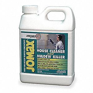 House Cleaner and Mildew Killer, 32 oz  Jug, Unscented Liquid, 1 EA