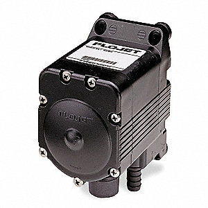 Polypropylene Viton® Single Double Diaphragm Pump, 5 gpm, 80 psi