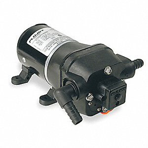 Polypropylene Diaphragm Electric Sprayer Pump, 5.0 GPM Max., 12VDC
