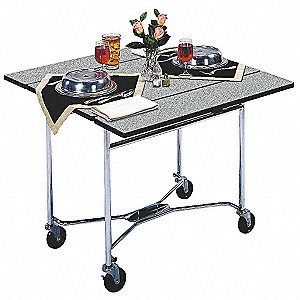 Room Service Cart,Square,L 36,W 36,H 30