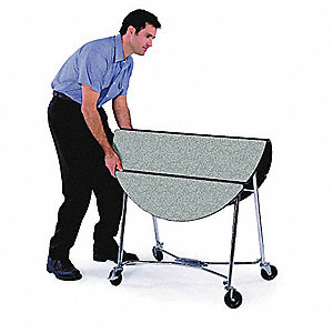 Room Service Cart,Fold-Up,Square