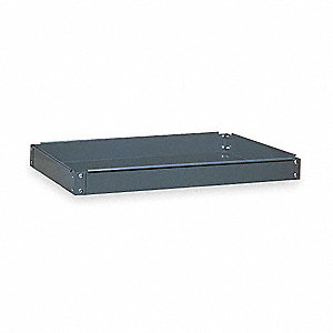 Service Cart Tray,200 lb.,Gray,Steel