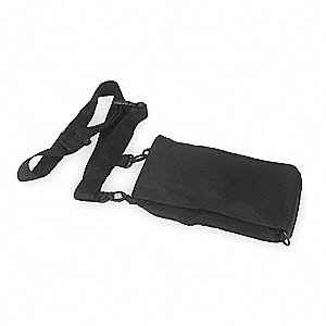 Belt Pouch,1-3/4 In. D,8-3/4 In. H,Black