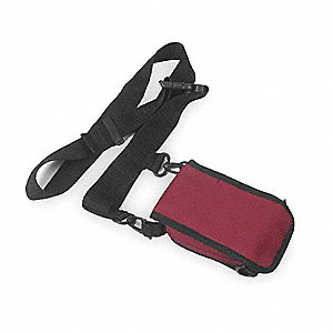 Belt Pouch,5-3/4 In. H,1-1/2 In D,Maroon