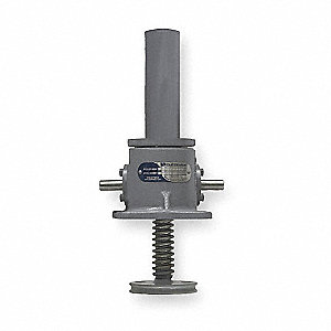 Machine Screw Actuator,500 lb,12 In TVL
