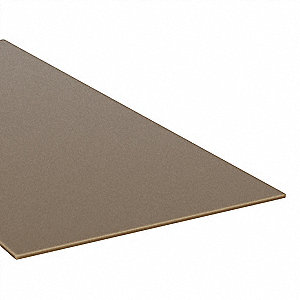 "Rod,Acetal,Brown,1/4"" Dia x 6 ft. L"