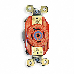 HUBBELL WIRING DEVICE KELLEMS Orange Locking Receptacle 2XTF5 together with BRYANT 20A  mercial Environments 49YZ28 in addition GREENLEE Receptacle Tester With GFCI 3T117 additionally Pico 1595a also How To Install A 220 Volt Outlet. on double receptacle wiring
