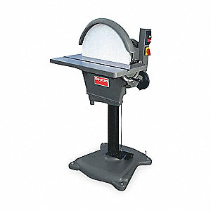 Disc Sander,20 In,3 HP,230/460V,3 Ph