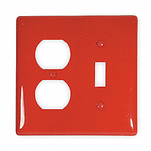 Hubbell Wiring Device Kellems Toggle Switch Duplex Receptacle Wall