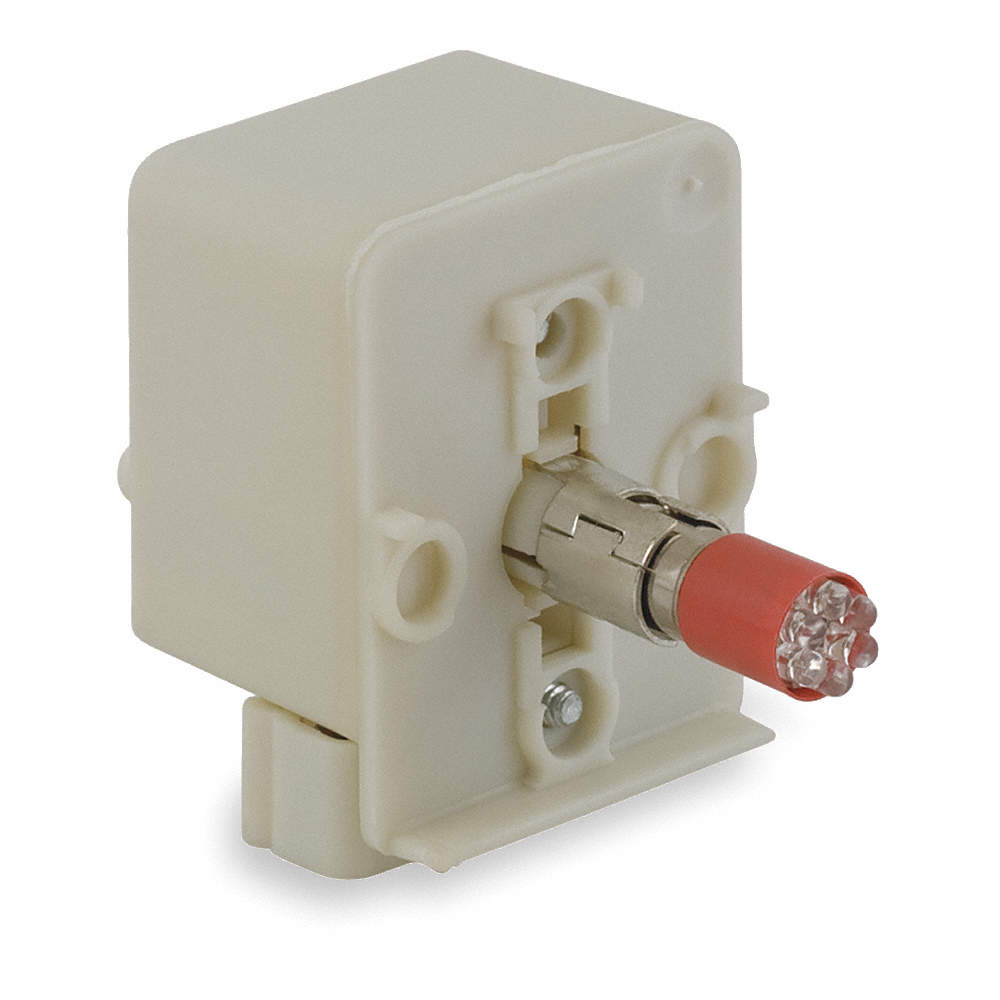 LED Lamp Type 24VAC//DC Lamp Module Voltage Red Lamp Module With Bulb
