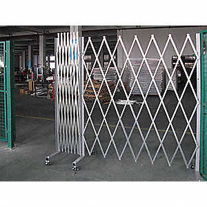 Grainger Approved Folding Gate Portable Double 1 To 12