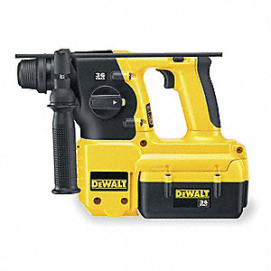 Cordless Rotary Hammer Drill Kit, 36.0 Voltage, 0 to 4400 Blows per Minute, Battery Included