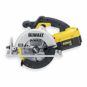 Cordless Circular Saw Kit,36V,7-1/4 In,L