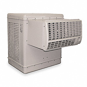 Ducted Evaporative Cooler,2800 cfm,1/8HP