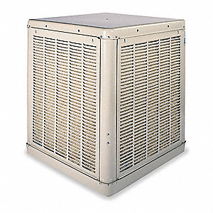 Ducted Evaporative Cooler,4800cfm,1/2 HP