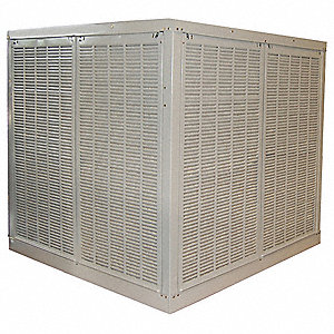 3000 cfm Belt-Drive Ducted Evaporative Cooler with Motor, Covers 1200 sq. ft.