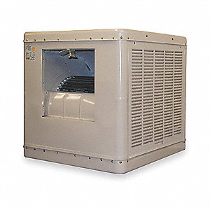 Ducted Evaporative Cooler,6500 cfm,3/4HP