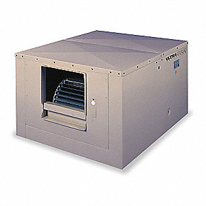 Ducted Evaporative Cooler,5400 cfm,1/2HP