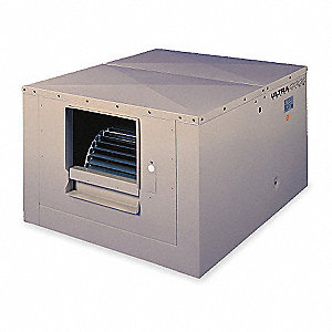 Ducted Evap Cooler,4400 cfm,3/4 HP