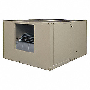 4400 cfm Belt-Drive Ducted Evaporative Cooler with Motor, Covers 1600 sq. ft.
