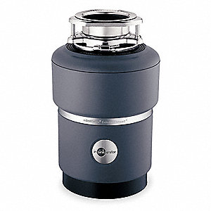 COMPACT FOOD WASTE DISPOSER,3/4 HP