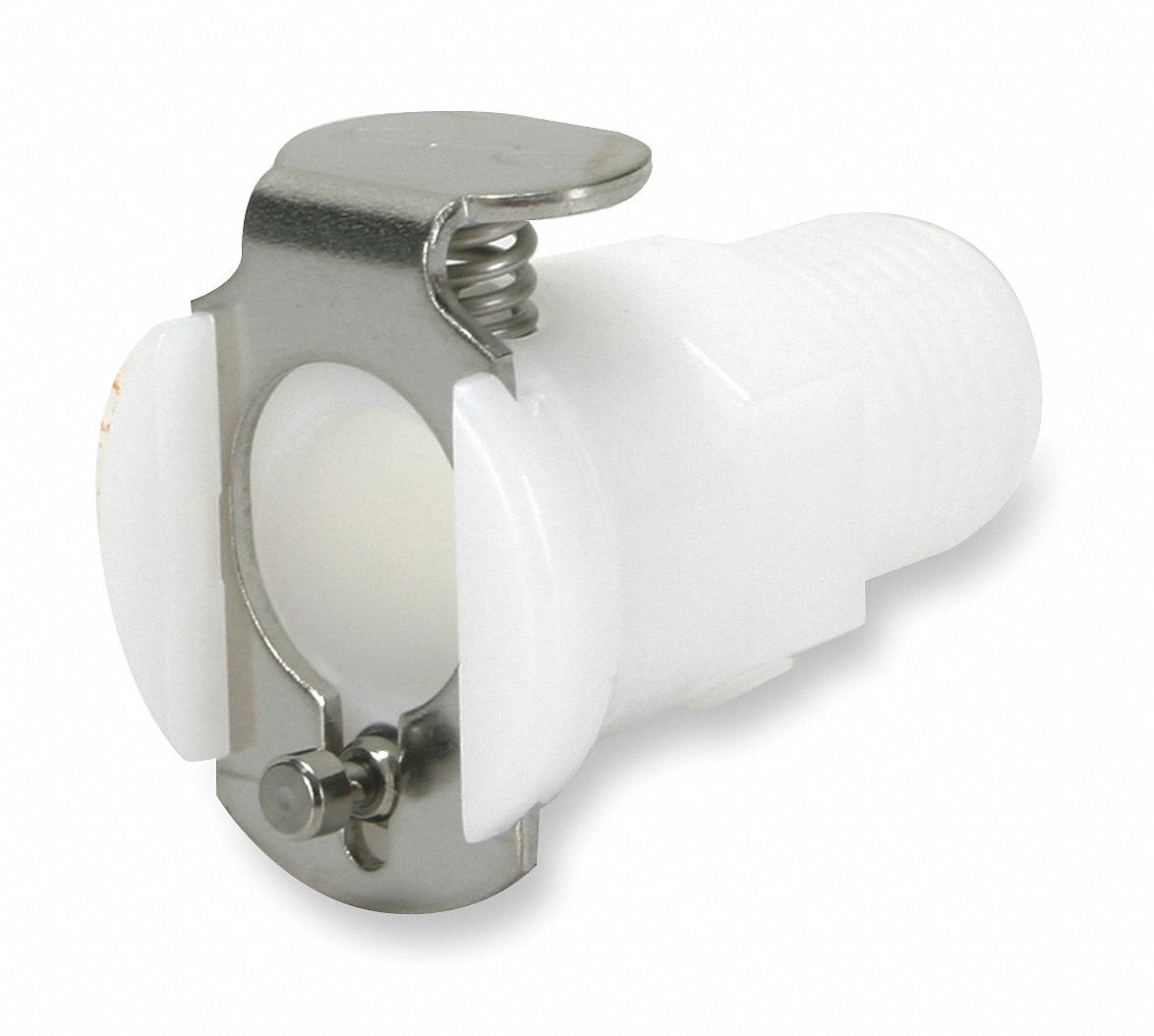 PMC Series Straight-Through Inline Coupler,  MNPT,  For Use With MC and PMC Inserts