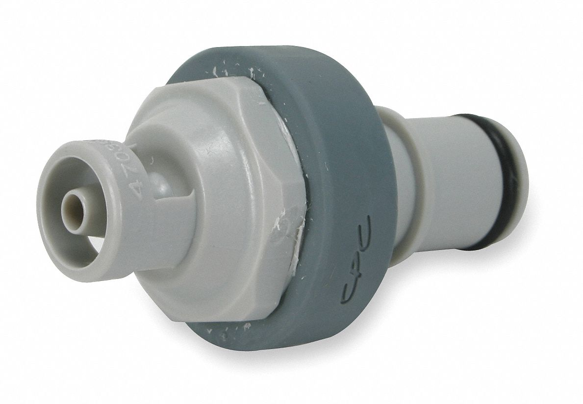 NS4 Series Shut-Off Inline Insert,  Barbed,  For Use With NS4 Couplers