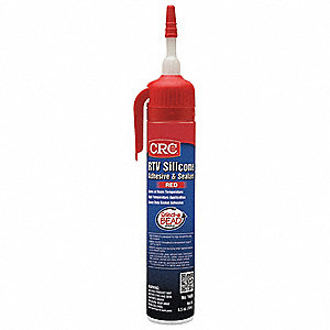 High Temp., Low Odor Red RTV Silicone Sealant, 6.5 oz.