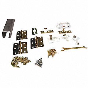PEMKO Folding Door Track & Hardware Kit - 2YEZ8|HF2/100A/4 - Grainger