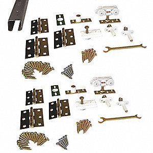 PEMKO Folding Door Track & Hardware Kit - 2YEZ9|HF4/100/8 - Grainger