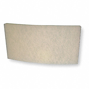 10x19x2 MERV 6 HEPA Filter For Use With Mfr. No. F-981-3, Frame Included: No