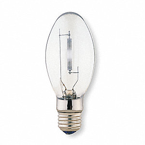 100 Watts High Pressure Sodium HID Lamp, ED17, Medium Screw (E26), 9500 Lumens, 2000K Bulb Color Tem
