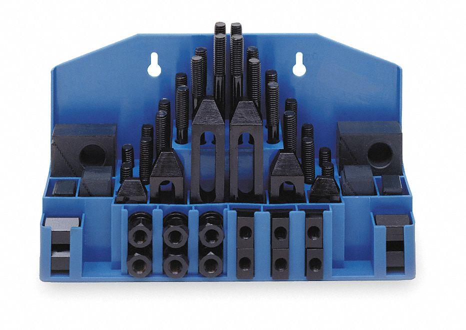 Westward Clamping Kit 54 pcs 3//4,5//8-11 Stud 19T336