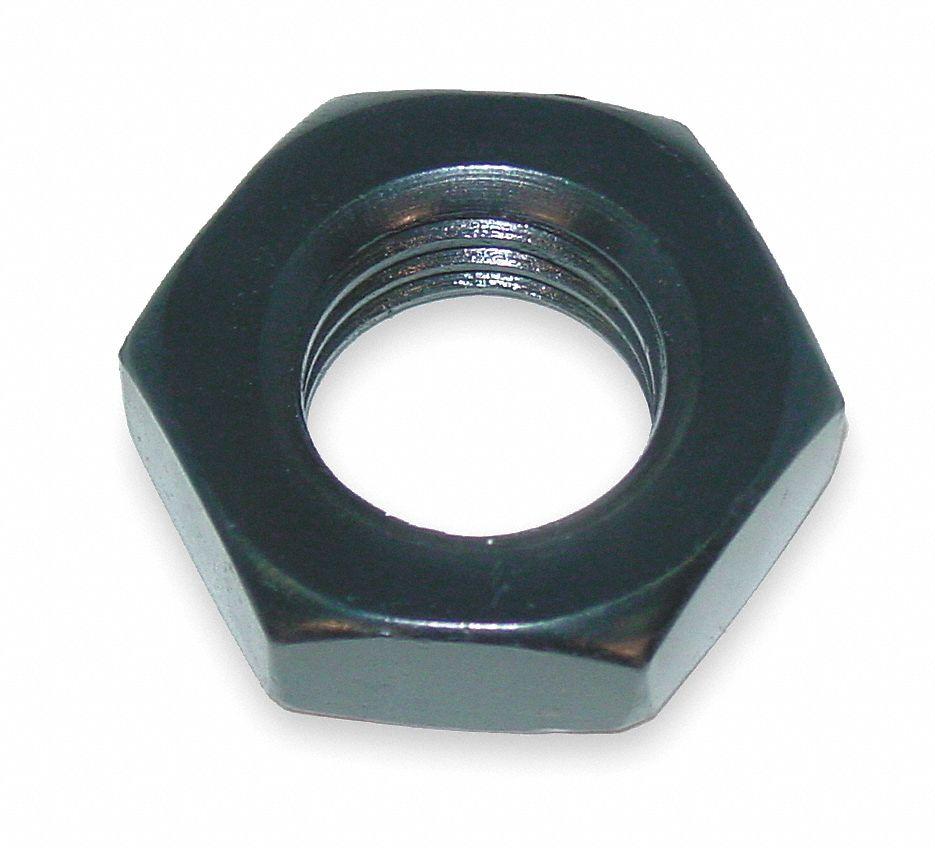 PK10 5//8-11 Hex Slotted Nut-Regular Zinc Plated Finish Right Hand Grade 5 Steel ASME B18.2.2