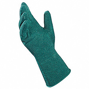 Nitrile Cut Resistant Gloves, ANSI/ISEA Cut Level 3 Lining, Green, XL, PR 1