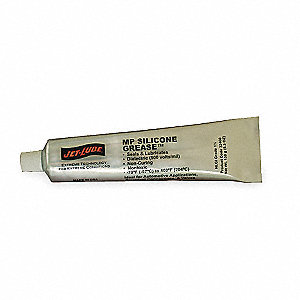 Clear Silicone Di-Electric Grease, 5.3 oz., NLGI Grade: 1.5