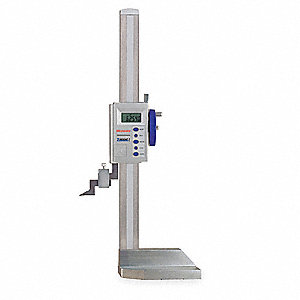 "Electronic Digital Height Gage, 0 to 24""/0 to 600mm Range, 0.0005""/0.01mm Resolution"