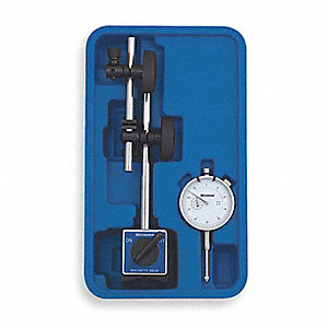 "Continuous Reading Magnetic Base and Indicator Set, 0 to 1"" Range"