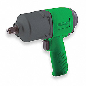 "Industrial Duty Air Impact Wrench, 1/2"" Square Drive Size 50 to 500 ft.-lb."