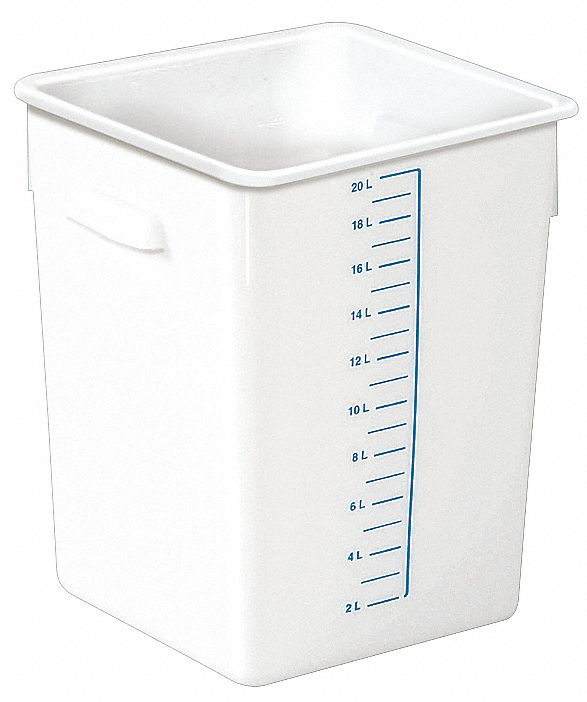 RUBBERMAID 11 38 x 10 12 x 14 716 Polyethylene Space Saving