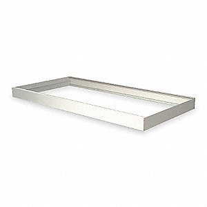 Mounting Frame, Surface, 48 In.L, 24 In.W