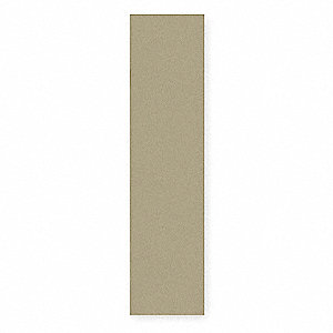 End Panel For Flat Top Locker,D 18,Beige