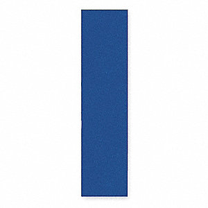 End Panel For Flat Top Locker,D 15,Blue