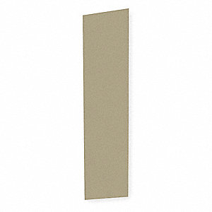 End Panel For Slope Top Locker,D18,Beige